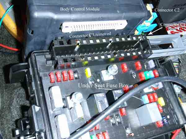 Disable on pontiac grand am 2001 2004 fuse box diagram